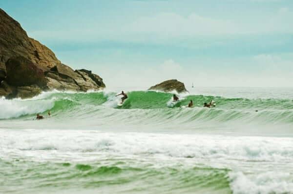 Passeios românticos em Balneário Camboriú: Praia Brava