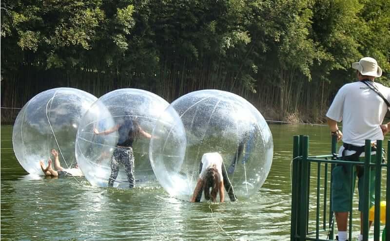 O que fazer com as crianças em Belo Horizonte: Water Ball no Vale Verde