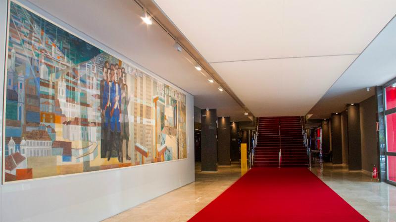 Casa FIAT de Cultura em Belo Horizonte: Interior do espaço cultural