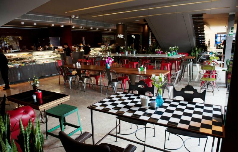 Casa FIAT de Cultura em Belo Horizonte: Café