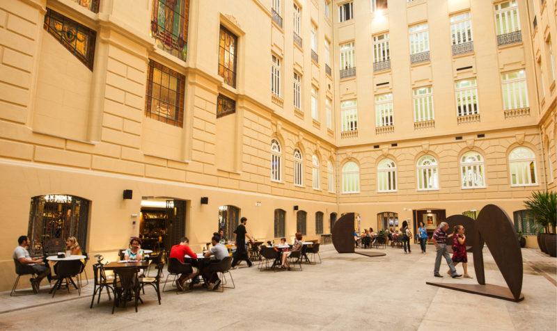 Centro Cultural Banco do Brasil em Belo Horizonte: Área de lazer