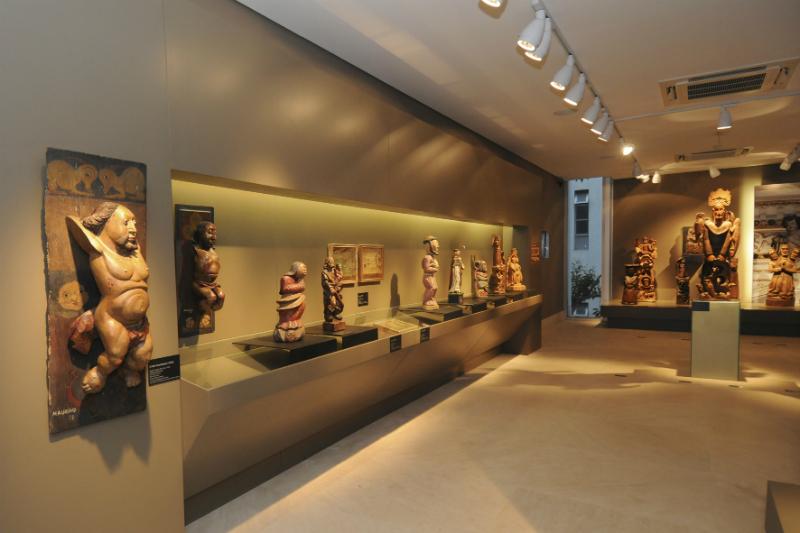 Centro de Arte Popular - CEMIGem Belo Horizonte: Salas de exposições