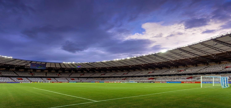 Estádio Governador Magalhães Pinto em Belo Horizonte: Campo