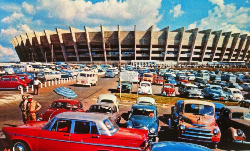 Estádio Governador Magalhães Pinto em Belo Horizonte: Estádio em 1965