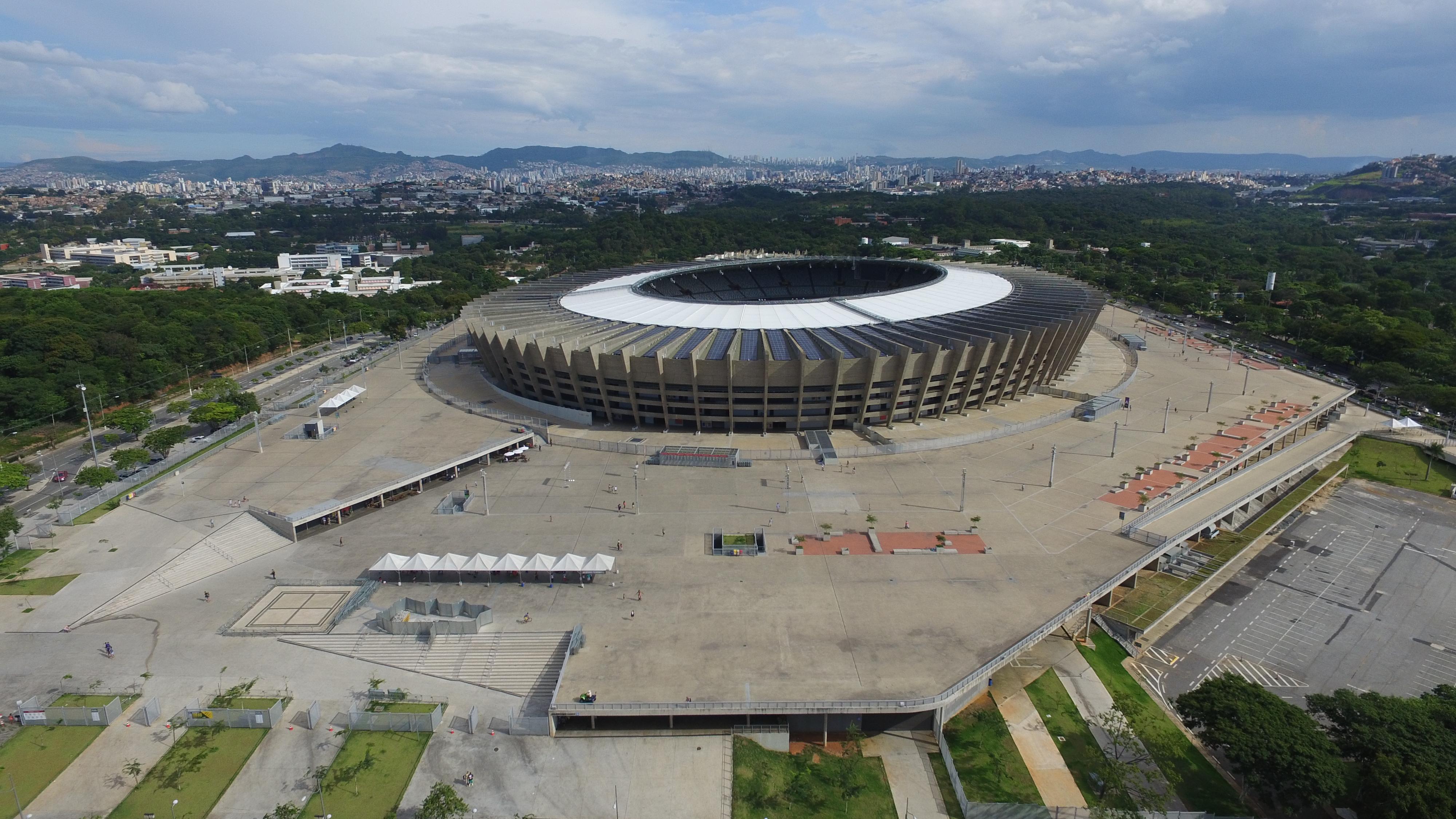 Estádio Governador Magalhães Pinto em Belo Horizonte: Complexo atual do Mineirão