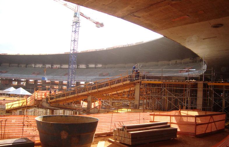 Estádio Governador Magalhães Pinto em Belo Horizonte: Reformas