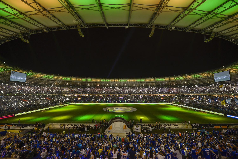 EstádioGovernador Magalhães Pinto em Belo Horizonte: Estádio durante a Copa do Mundo de 2014