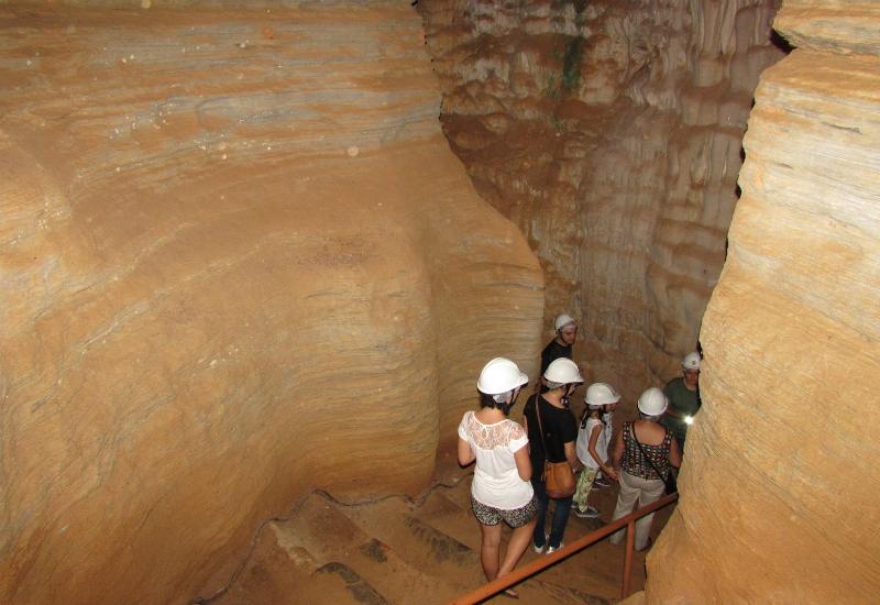 Gruta da Lapinha em Belo Horizonte: Percurso pela gruta