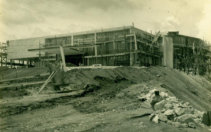 Museu de Arte Moderna da Pampulha: Construção