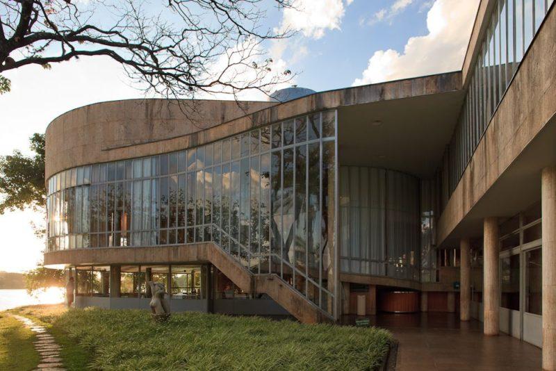 Museu de Arte Moderna da Pampulha em Belo Horizonte: Arquitetura