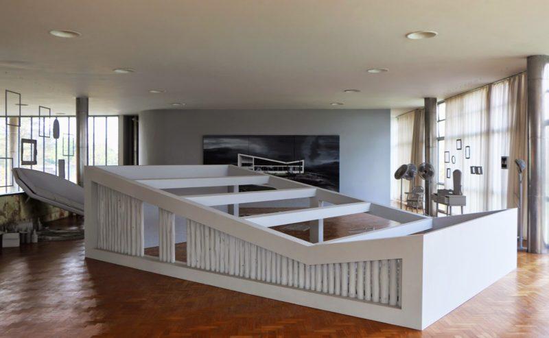 Museu de Arte Moderna da Pampulha em Belo Horizonte: Diferentes salas de posições
