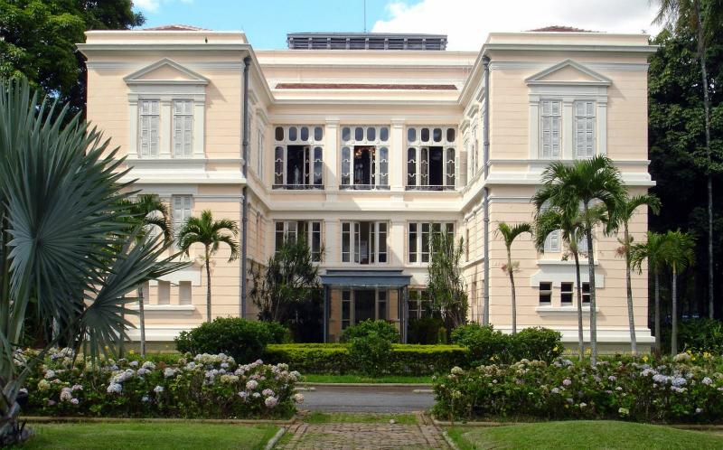 Palácio da Liberdade em Belo Horizonte: Fundos do Palácio