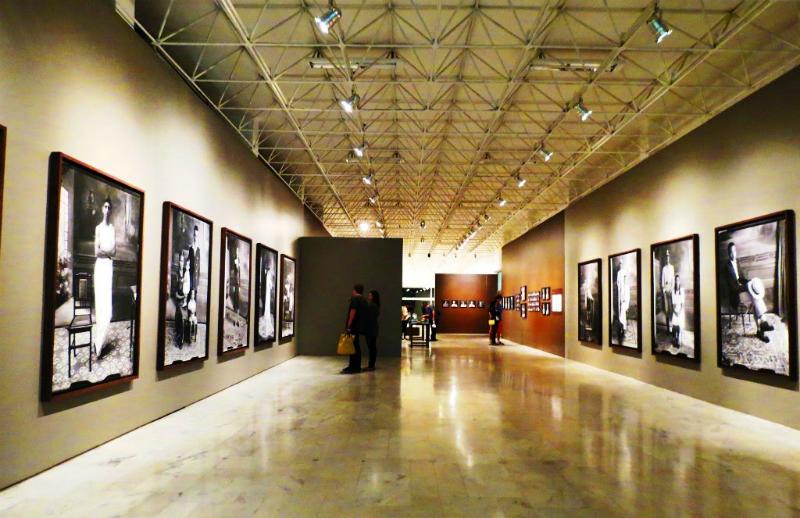 Palácio das Artes em Belo Horizonte: Salas de exposições