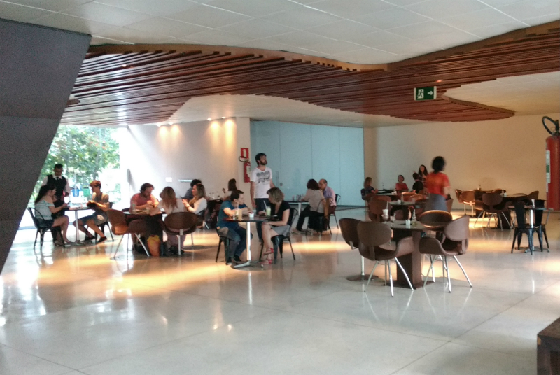 Palácio das Artes em Belo Horizonte: Café do Palácio