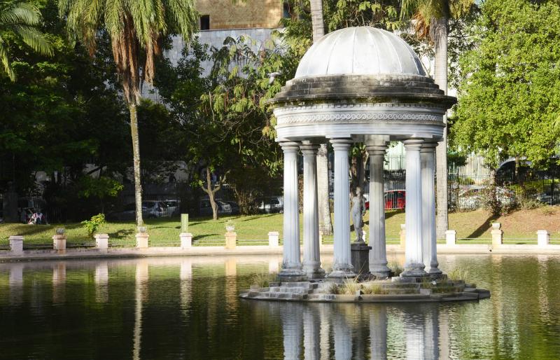 Parque Municipal Américo Renné Giannetti em Belo Horizonte: Monumentos