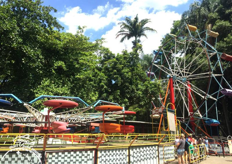 Parque Municipal Américo Renné Giannetti em Belo Horizonte: Parque de diversão