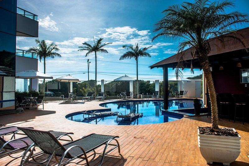 Praia de Taquaras em Balneário Camboriú: Hotel Reserva