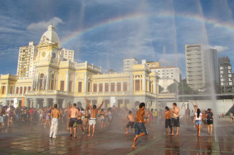 Praça da Estação em Belo Horizonte: Praia da Estação