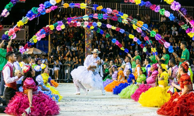 Praça da Estação em Belo Horizonte: Festa Junina