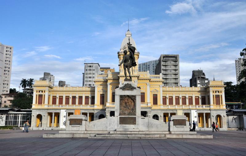 Praça da Estação em Belo Horizonte: Monumentos
