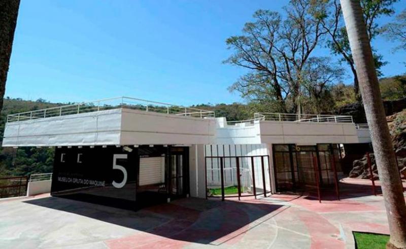 Gruta do Maquiné em Belo Horizonte: Museu da Gruta do Maquiné