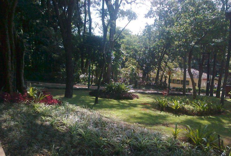 Museu de História Natural da UFMG em Belo Horizonte: Jardins