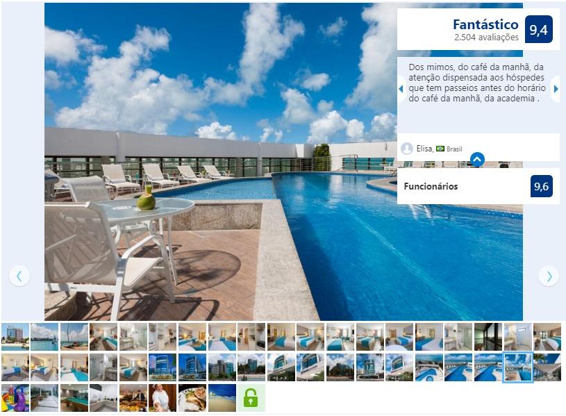 Melhores hotéis em Maceió: Piscina do Best Western Premier Maceió