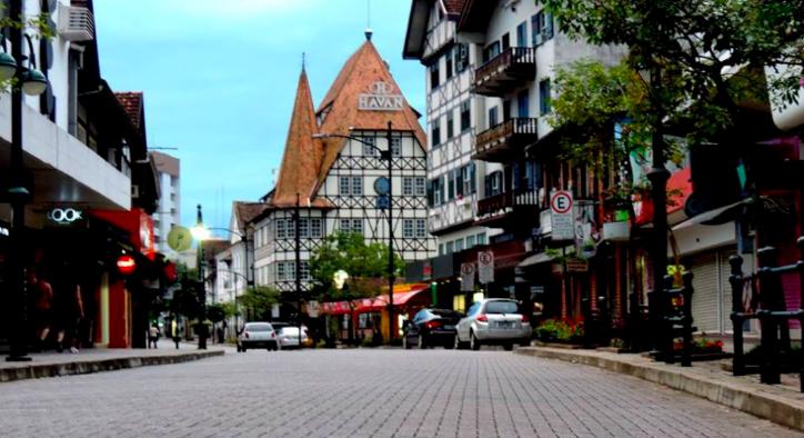 O que fazer em Blumenau: Rua XV