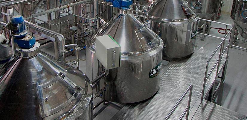 Cervejaria Bierland em Blumenau: Tonéis