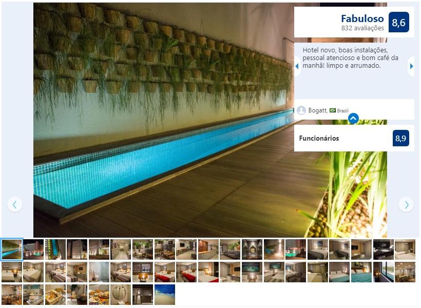 Dicas de hotéis em Maceió: Piscina do Amenit Hotel