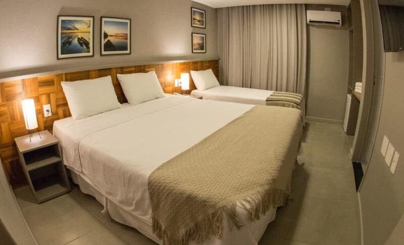 Dicas de hotéis em Maceió: Quarto do Amenit Hotel