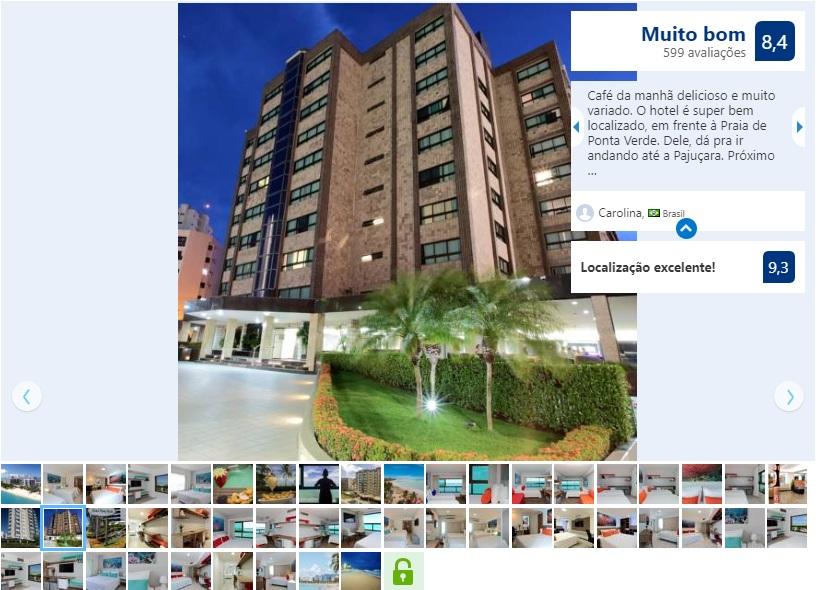 Dicas de hotéis em Maceió: Hotel Ponta Verde Maceió