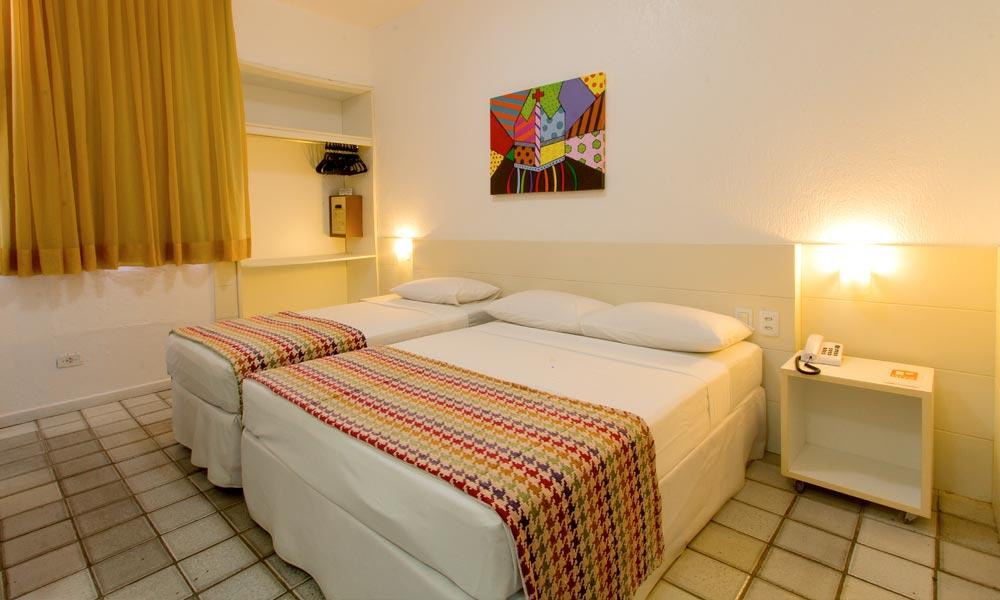 Hotéis no centro de Maceió: Quarto do Hotel Ritz Plazamar