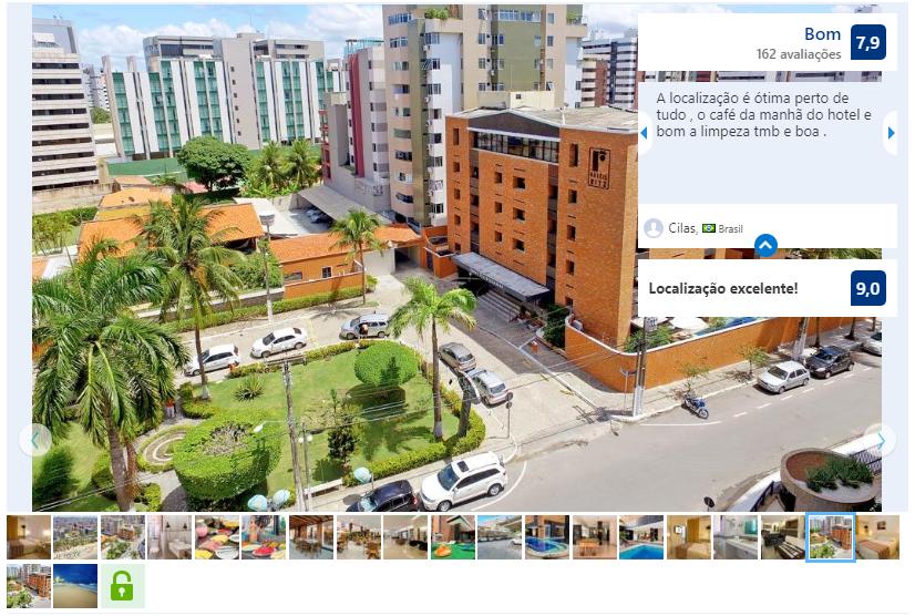 Hotéis no centro de Maceió: Avaliação do Hotel Ritz Plazamar
