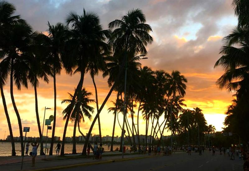 O que fazer a noite em Maceió: Entardecer em Maceió