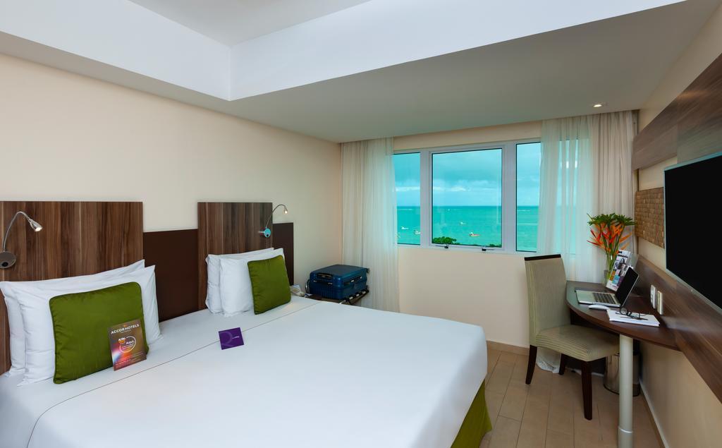 Dicas de hotéis em Maceió: Quarto do Mercure Maceió Pajuçara