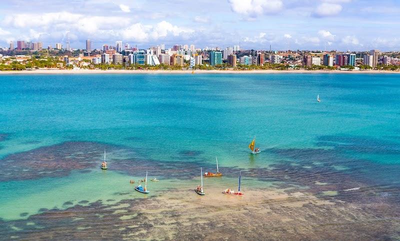 Pontos turísticos em Maceió: Pajuçara