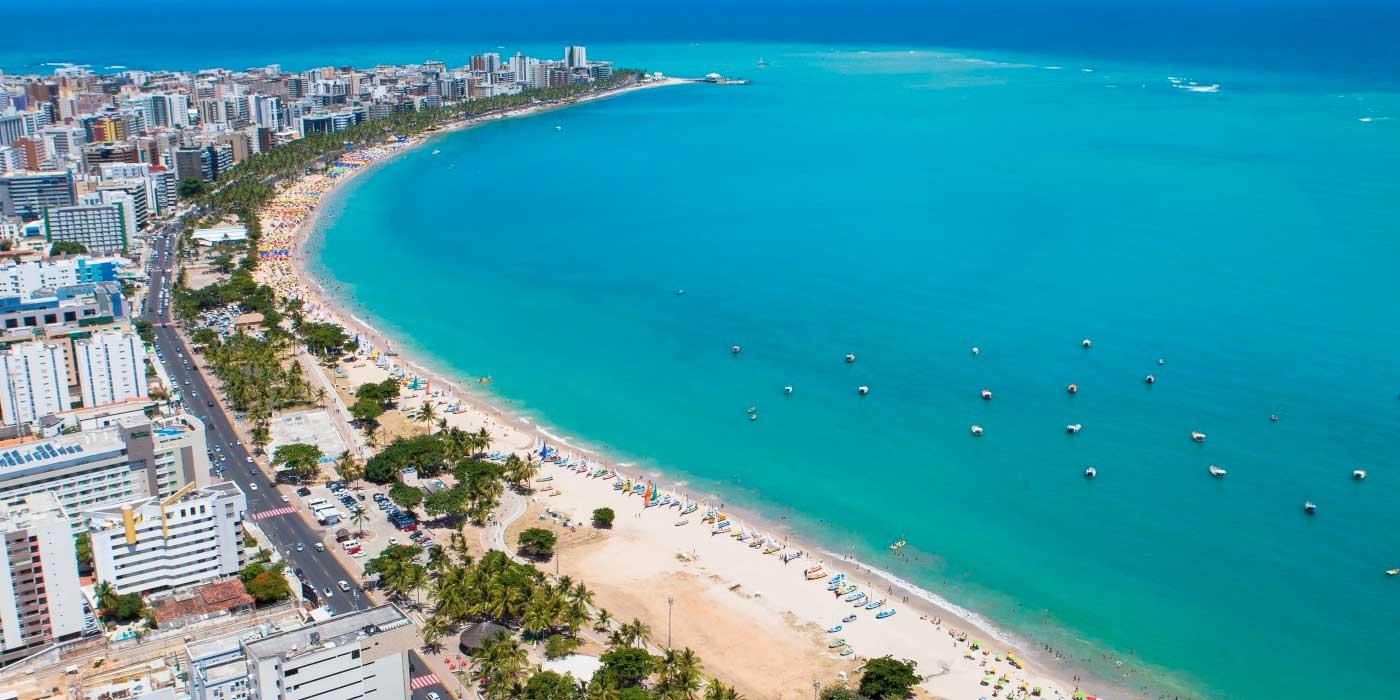 Onde ficar em Maceió: Orla da Praia da Ponta Verde