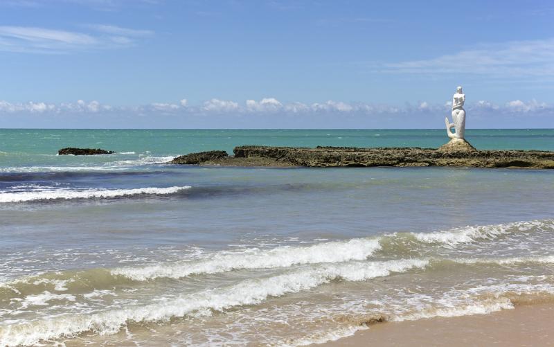 Mapa turístico de Maceió: Praia da Sereia