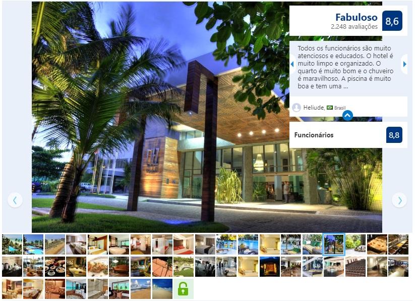 Melhores hotéis em Maceió: Ritz Lagoa da Anta Hotel & SPA