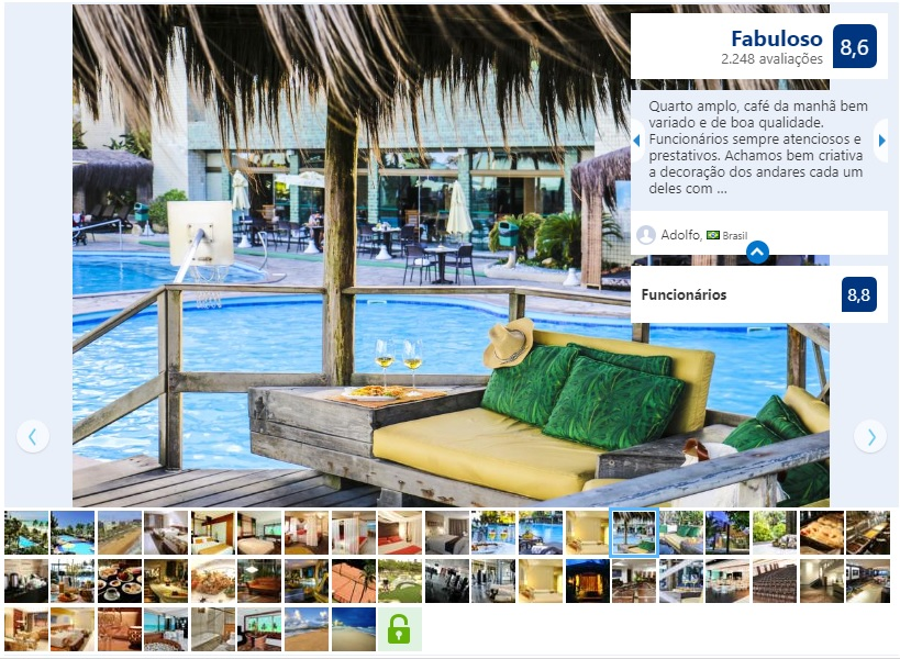 Melhores hotéis em Maceió: Piscina do Ritz Lagoa da Anta Hotel & SPA