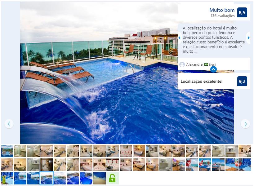 Hotéis no centro de Maceió: Avaliação do Tambaqui Praia Hotel