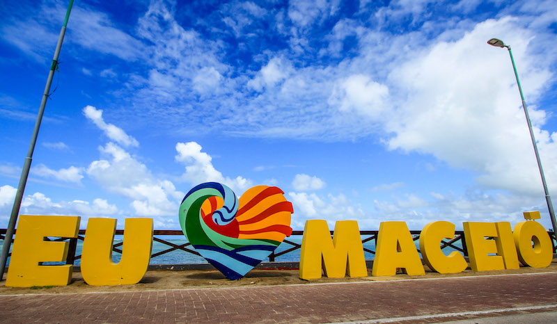 Pontos turísticos em Maceió