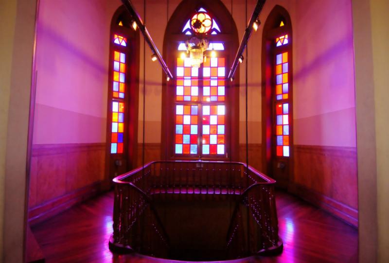 Museu da Moda em Belo Horizonte: Interior do prédio