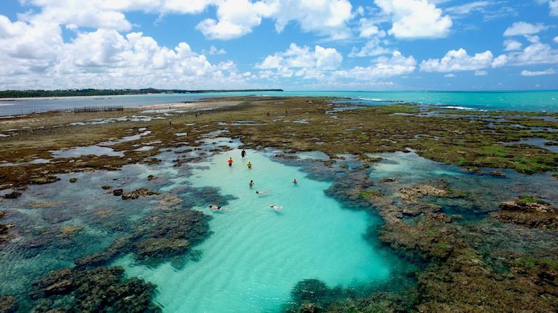 Pontos turísticos em Maceió: Praia de Pratagy